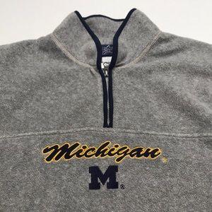 MICHIGAN WOLVERINES Women's 1/4 Zip Sweatshirt